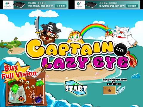Captain Lazy Eye