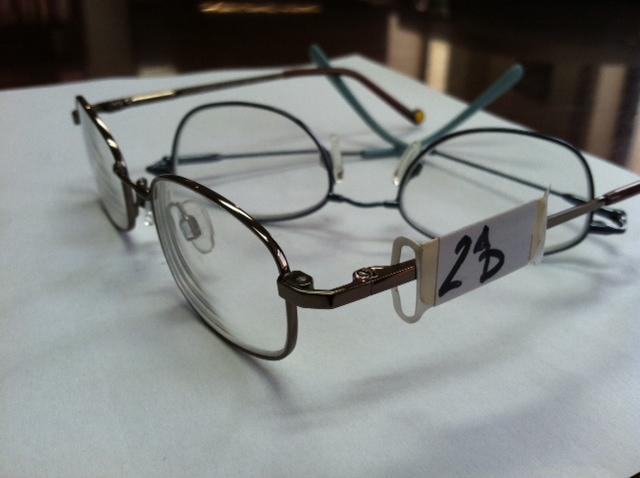 Yoked Prism Glasses