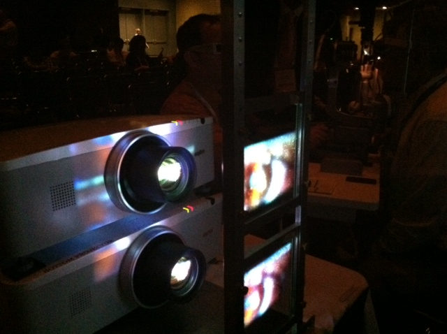 AOAstereoprojector