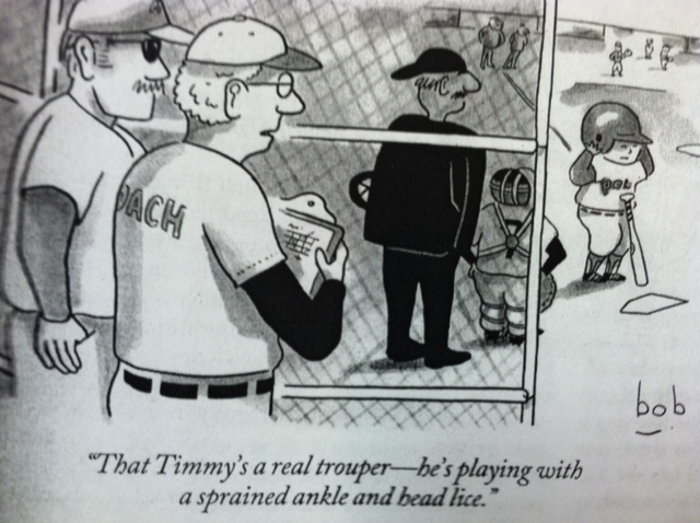baseball cartoon