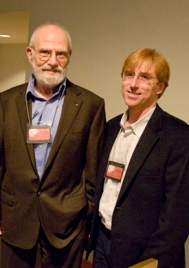 Oliver Sacks and Professor Ralph Siegel