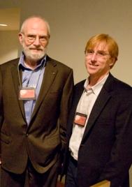 Oliver Sacks and Professor Ralph Siegel