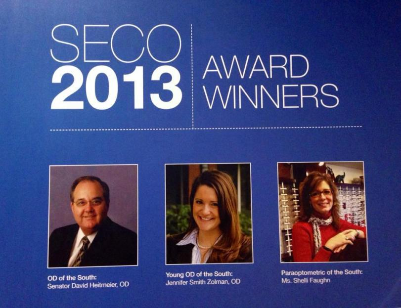 SECO 2013 Award Winner