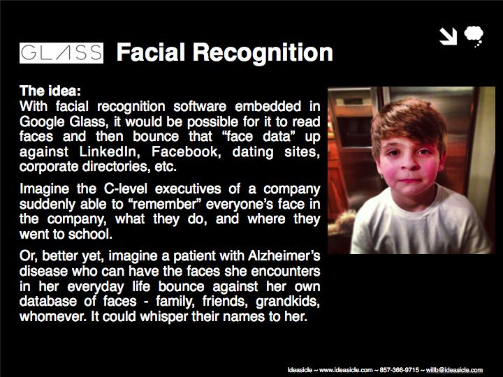 Google-Glass Prosopagnosia