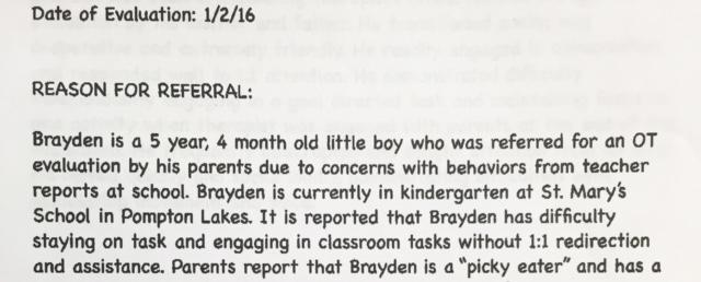 Brayden Letter 1