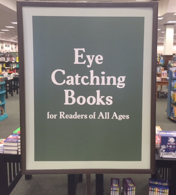 B&N Eye Catching