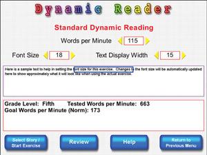 Dynamic Reader