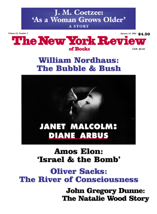 NY Review of Books Cover Page