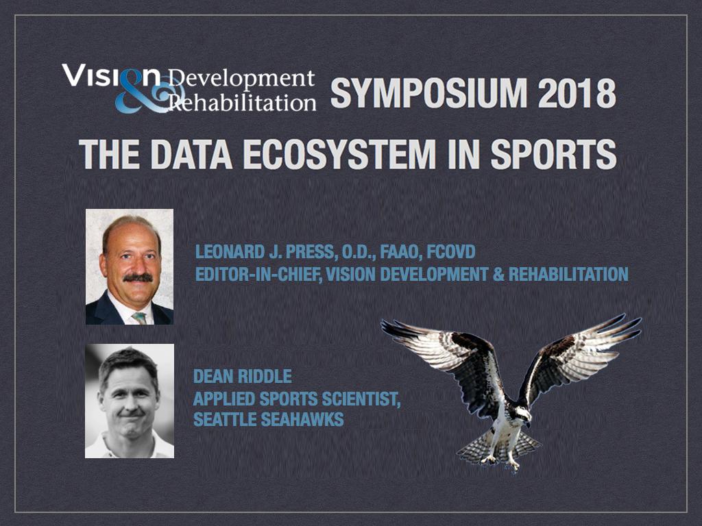Dr. Leonard Press on the 2018 VDR Symposium this April 11