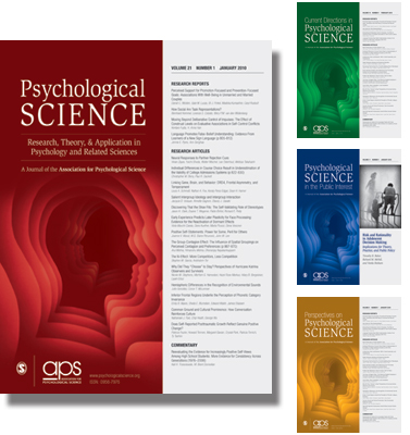 Psych Science Covers